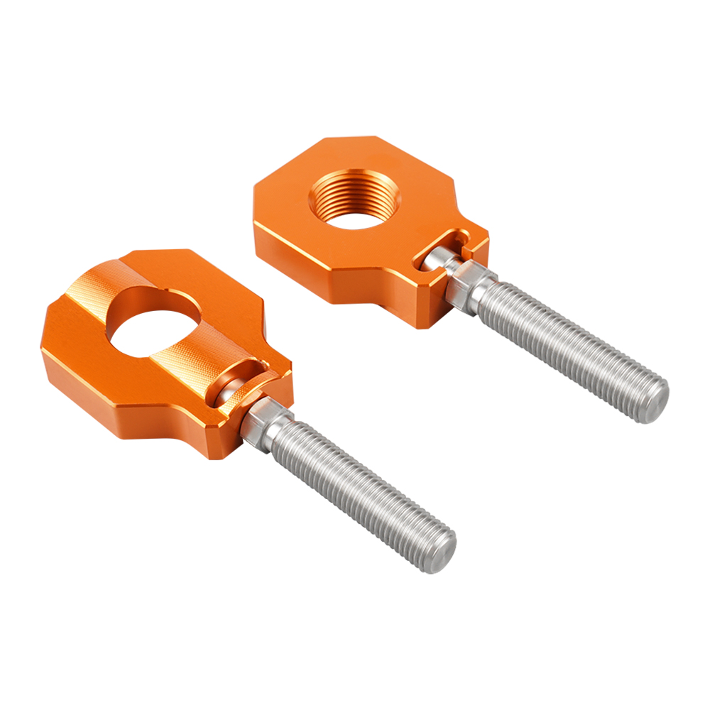 NiceCNC Achsblöcke Axle Blocks Kettenspanner Für KTM EXC EXC-F XC-W XCF-W XC-F